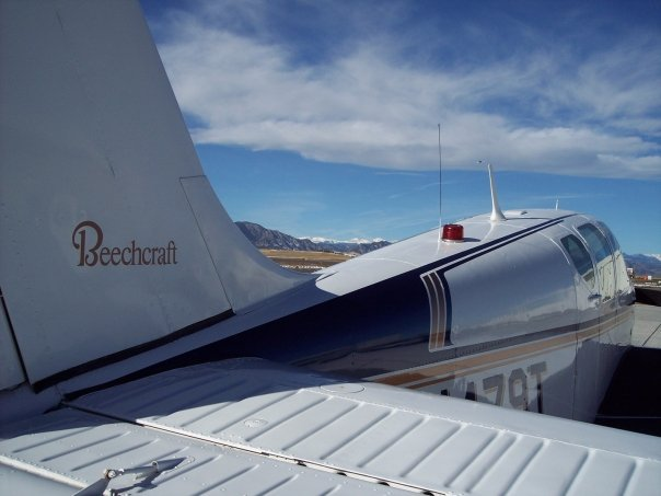 Beechcraft Debonair-ferry-pilot-florida-to-idaho
