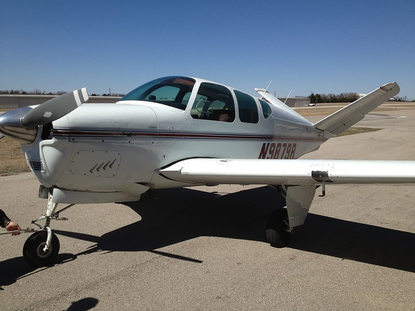Beechcraft M35 Bonanza-ferry-pilot-kansas-texas