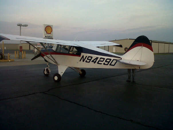 Piper Tri-Pacer-ferry-pilot-Virginia-to-Florida