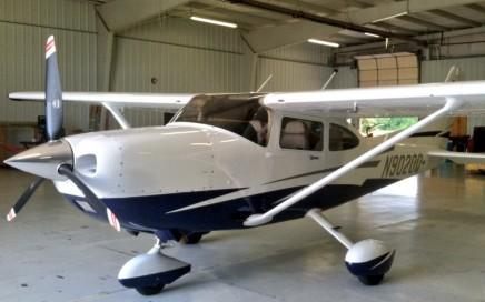 cessna 182T-Ferry-Pilot-Oklahoma-Kansas.