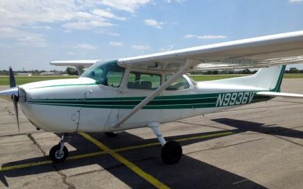 Cessna 172 Peraland TX to Elk City OK