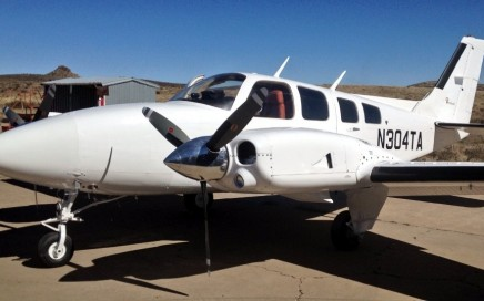Baron 58P-Ferry-Pilot-Mexico-to-Texas