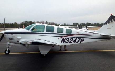 BonanzaB36TC-ferry-pilot-Missouri-to-North-Carolina