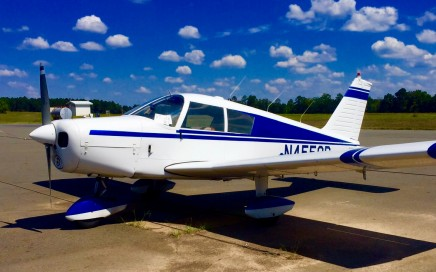 Piper-cherokee-140-archer-ferry-flight-from-arkansas-to-louisiana-ferry-pilot-service-professional-mooney-beech-beechcraft-cessna-cirrus