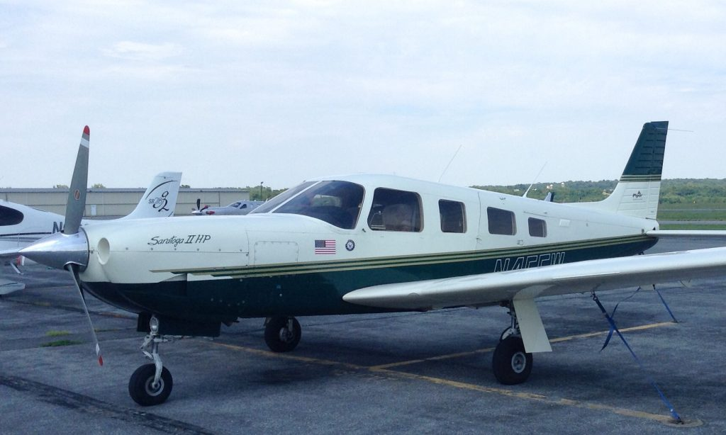 N45FW-Piper-saratoga-II-HP-PA34-ferry-pilot-flight-colorado-maryland-professional-service-needed-cessna-beech-beechcraft-mooney-cirrus-experimental