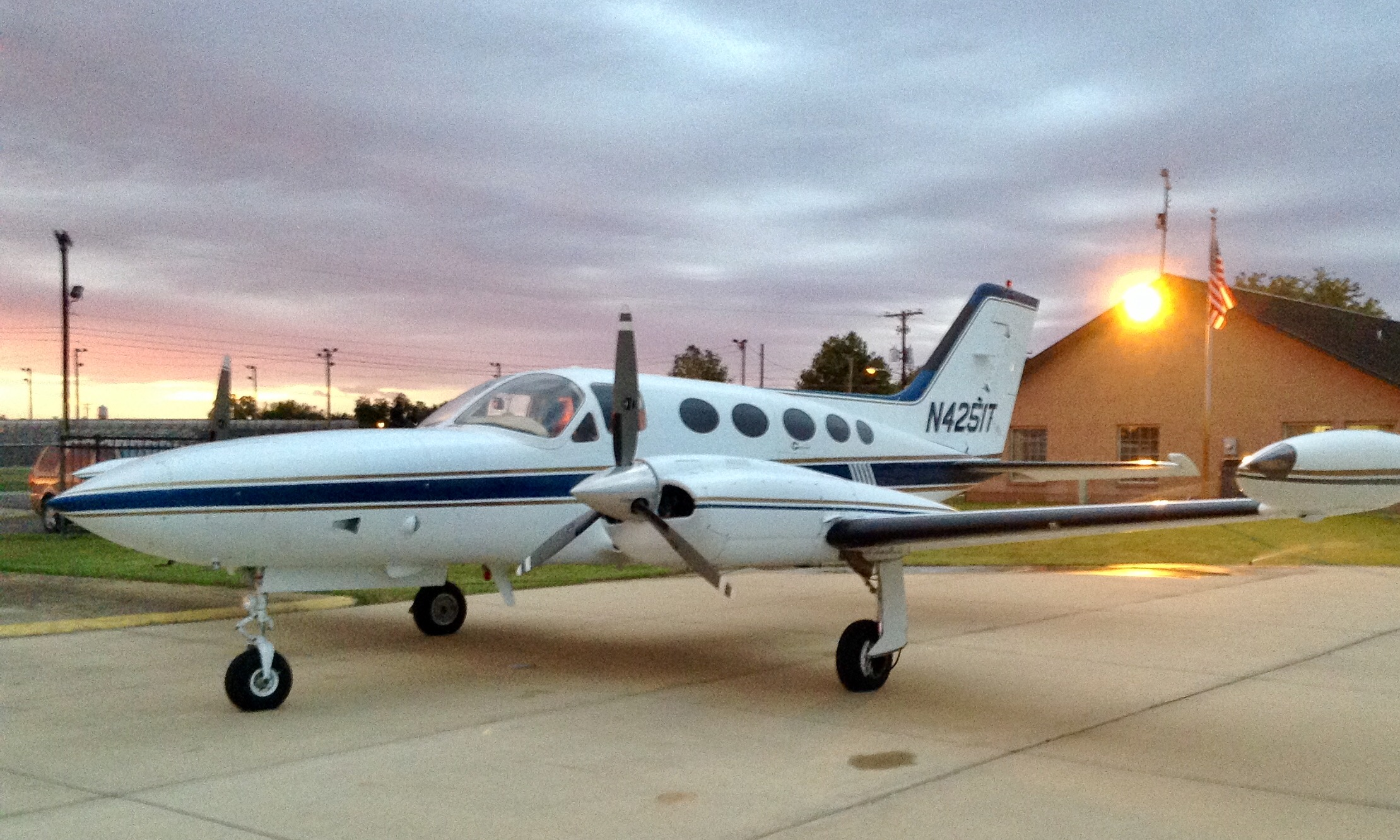 Cessna 421 B Ferry