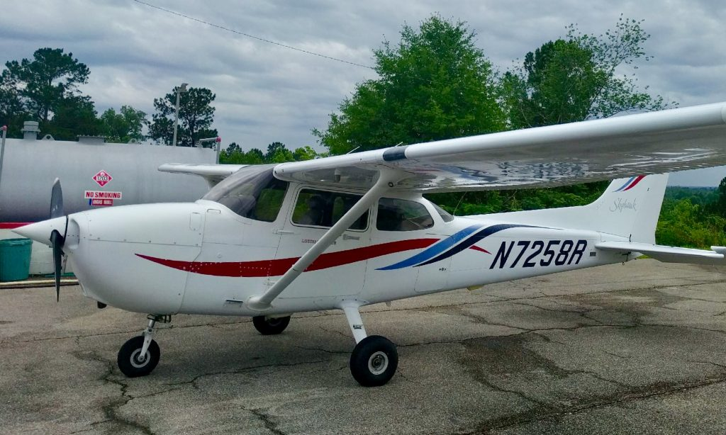 N7258R-Cessna-172-c172-ferry-pilot-flight-from-louisiana-to-florida-ferry-pilot-needed-professional-service-beech-beechcraft-piper-cirrus-mooney-experimental