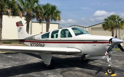 N3389M-Beechcraft-Beech-F33A-Bonanza-Ferry-Pilot-Flight-from-Florida-to-Kansas-professional-ferry-pilot-services-needed-beech-cessna-piper-cirrus-mooney-experimental